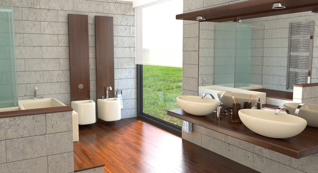 Pin Rendering Bagno on Pinterest